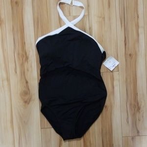 Brand new with tags Black one piece